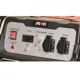 Generator curent SC-4000 TOP, Putere max. 3.8 kw, 230V, AVR, motor benzina