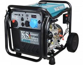 Generator de curent 8 kW inverter - benzina - Konner & Sohnen - KS-8100iE-ATSR