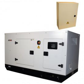 Generator insonorizat SENCI SCDE 34YS-ATS, 34 kVA, 400V, AVR, Diesel