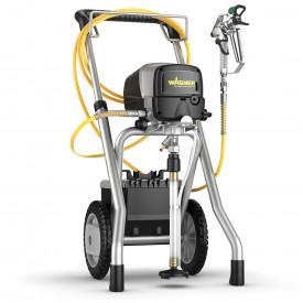 Pompa airless semi-profesionala Wagner PowerPainter 90 Extra HEA Spraypack cart, pompa airless cu piston pentru zugravit