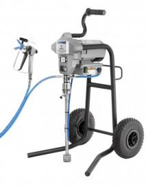 Pompa de vopsit / zugravit AIRLESS Industriala cu Carucior - Complet Echipata - 1,9L/min - Larius Jolly