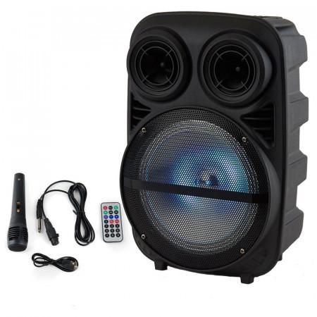 Boxa Activa Portabila XL, 100w, Tip Troller, Microfon si Telecomanda Incluse