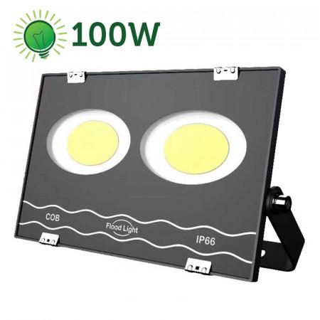 Proiector LED 100W COB, IP66, Ultra Thin