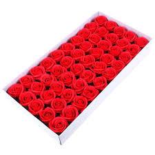 Set 50 trandafiri de sapun, rosu