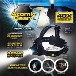 Lanterna Frontala Atomic Beam, 40 x zoom