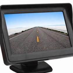 """Monitor Pliabil Video LCD TFT Led Marsarier 4,3"""" ,Cablaj inclus,12V"""