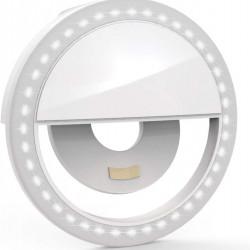 Selfie Ring Light, Lampa lumina portabila cu inel LED, selfie telefon mobil smartphone