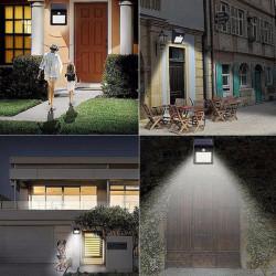 Set 12 x Lampa 30 Led cu incarcare solara si senzor de miscare.