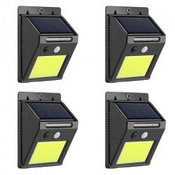 Set 4 lampi solare 48 leduri