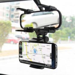 Suport telefon cu montare pe oglinda retrovizoare