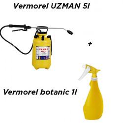 Vermorel Uzman 5 l galben cu tija metalica + Cadou Vermorel botanic 1l