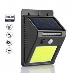 Lampa solara de perete, 48 leduri si senzor de miscare