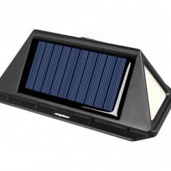 Lampa solara 166 LED, senzor de miscare