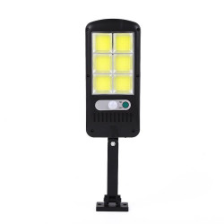 Mini lampa solara 150 LED COB, 3 moduri de functionare si telecomanda