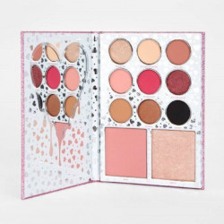 Paleta profesionala make-up KYLIE EYESHADOW & BLUSH PALETTE