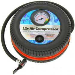 Compresor auto forma anvelopa cu alimentare bricheta, 12V