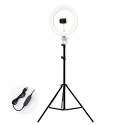 Lampa circulara LED lumina rece/calda