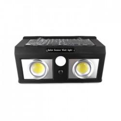 Lampa solara dubla LED cu lupa