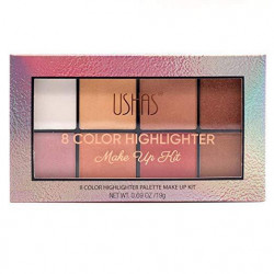 Paleta Highlight & Contour Ushas - 8 culori