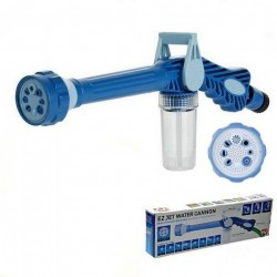 Pistol de stropit multifunctional cu dispenser pentru detergent
