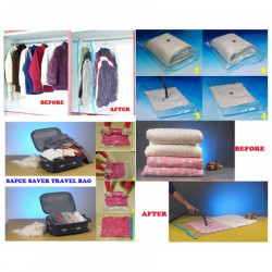 Set 10 saci pentru vidat haine 70X100 cm
