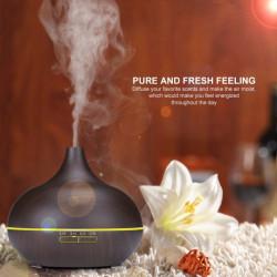 Difuzor aromaterapie/umidificator, 500ml, cu telecomanda