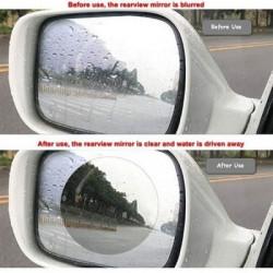 Set 2 x Folie antiaburire oglinzi