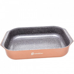 Tava aluminiu cu interior din ceramica 39,5 x 26 x 7 cm