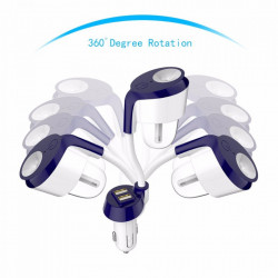 Difuzor auto aromaterapie NANUM CAR 2, umidificator si purificator aer