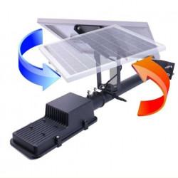 Proiector LED , 150 W cu panou solar , water proof IP65, cu telecomanda si temporizator