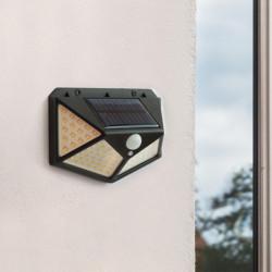 Set 3 Lampi solare 100LED, senzor de miscare