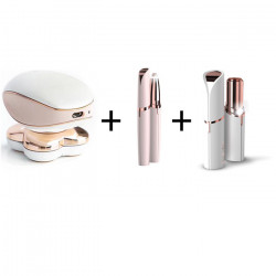 Set Epilator picioare, trimmer sprancene si epilator facial