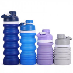 Sticla de apa pliabila, Non BPA, 550 ml