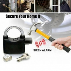 Lacat cu alarma inclusa pentru casa, garaj, poarta