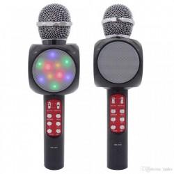 Microfon Karaoke cu difuzor si LED
