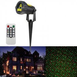Proiector laser cu telecomanda, joc de lumini - 7 moduri