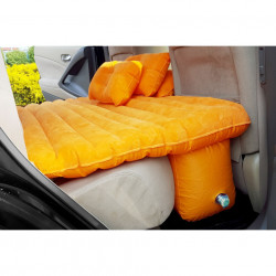 Saltea gonflabila pentru masina si exterior cu 2 perne si pompa auto inclusa