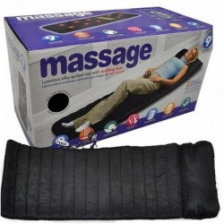 Saltea pentru masaj si incalzire cu infrarosu si telecomanda