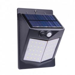 Set 4 x Lampa 80 Led cu incarcare solara si senzor de miscare.