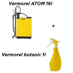 Vermorel Atom 16l galben cu tija metalica + Cadou Vermorel botanic 1l