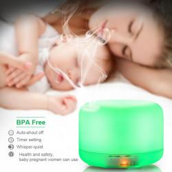 Difuzor Aromaterapie cu telecomanda, Led RGB