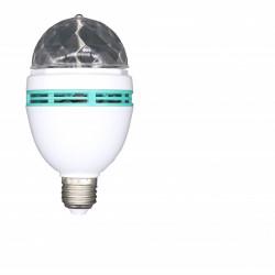 Bec DISCO Rotativ Multicolor Cu LED