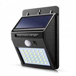 Lampa 30 Led cu incarcare solara si senzor de miscare
