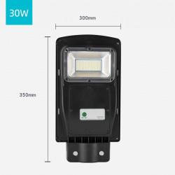 Lampa stradala SOLARA 30W, telecomanda cu functii multiple