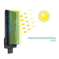 Lampa stradala SOLARA 500W, telecomanda cu functii multiple