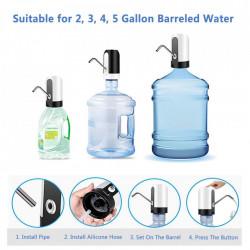 Set 2 X Pompa electrica cu incarcare USB pentru bidoane de apa