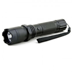 Lanterna SWAT led acumulator 4800 mAh rezistenta socuri si apa