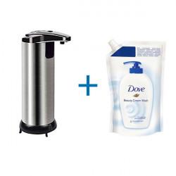 Dozator de sapun cu senzor + rezerva sapun