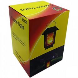 "Felinar Solar, Efect de Flacara ""Flame light"" - 26 lumeni - 7000k IP65"