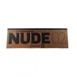 Paleta Profesionala Cu 12 Farduri - Nude 02
